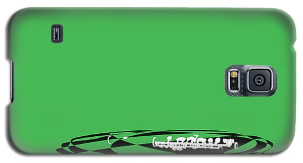 Galaxy S5 Case featuring the digital art Piccolo In Green by Jazz DaBri