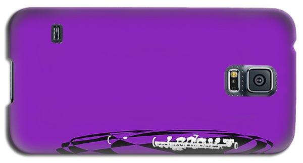 Galaxy S5 Case featuring the digital art Piccolo In Purple by Jazz DaBri