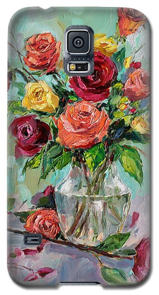 Galaxy S5 Case featuring the painting Picked For You by Jennifer Beaudet
