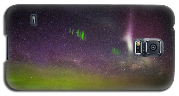Picket Fences And Proton Arc, Aurora Australis Galaxy S5 Case