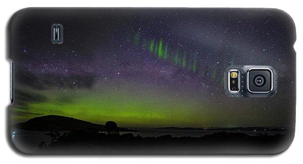 Galaxy S5 Case featuring the photograph Picket Fences by Odille Esmonde-Morgan