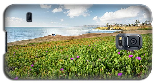Picnic At Sunset Cliffs Galaxy S5 Case