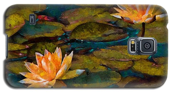 Picnic By The Pond Galaxy S5 Case