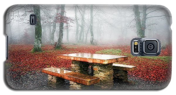 Picnic Of Fog Galaxy S5 Case