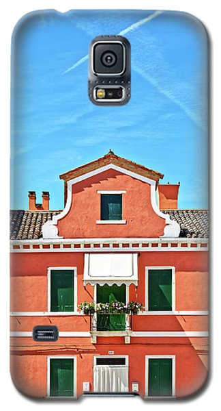 Picturesque House In Burano Galaxy S5 Case