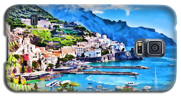 Picturesque Italy Series - Amalfi Galaxy S5 Case
