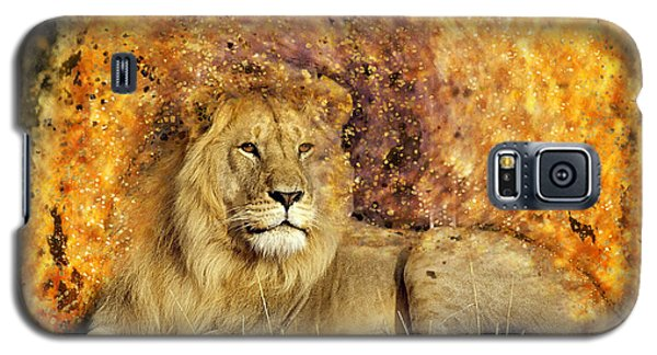 Pieces Of A Lion Galaxy S5 Case