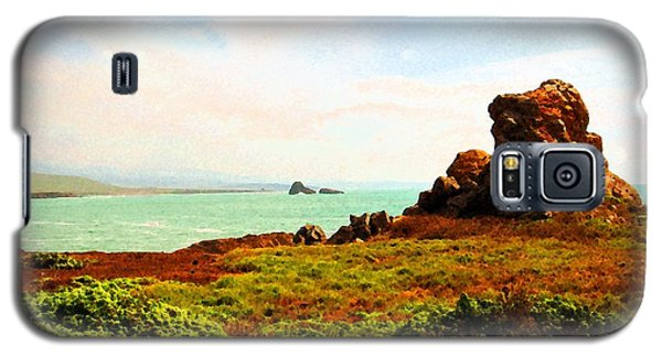 Galaxy S5 Case featuring the photograph Piedras Blancas 3 by Timothy Bulone