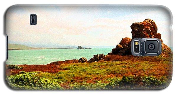 Piedras Blancas 3 Galaxy S5 Case by Timothy Bulone
