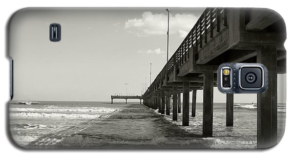 Galaxy S5 Case featuring the photograph Pier 1 by Sebastian Mathews Szewczyk