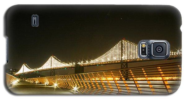 Pier 14 And Bay Bridge Lights Galaxy S5 Case