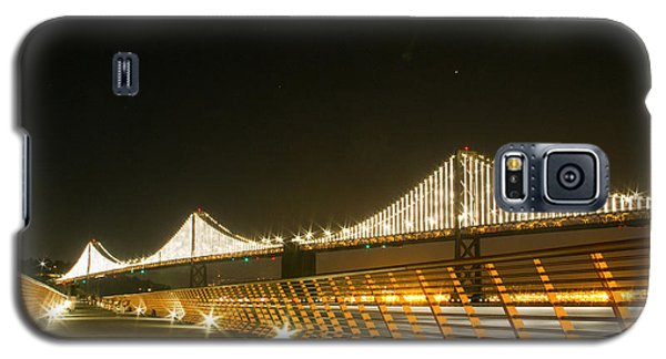 Pier 14 And Bay Bridge Lights Galaxy S5 Case