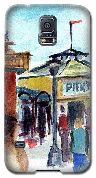 Pier 39 San Francisco Galaxy S5 Case by Tom Simmons
