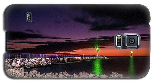 Pier And Lighthouse Galaxy S5 Case
