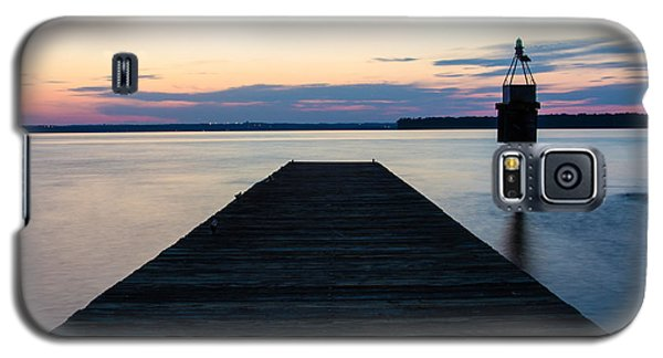Pier At Sunset 16x20 Galaxy S5 Case