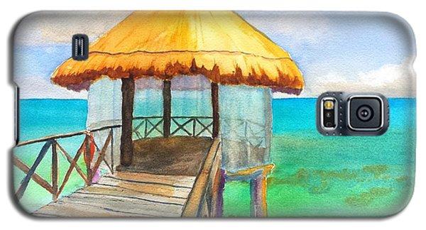 Pier Gazebo At Mayan Palace Galaxy S5 Case
