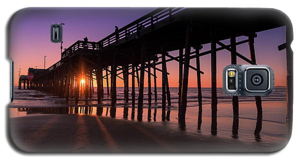 Pier In Purple Galaxy S5 Case