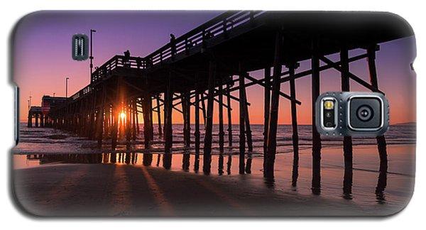 Pier In Purple Galaxy S5 Case