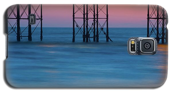 Pier Supports At Sunset I Galaxy S5 Case