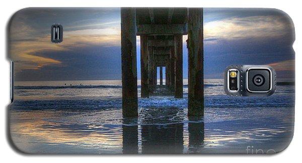 Pier View At Dawn Galaxy S5 Case