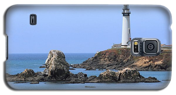 Pigeon Point Lighthouse Galaxy S5 Case by Lou Ford