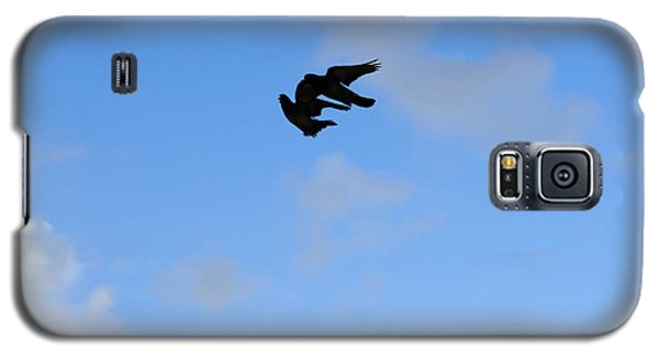 Pigeons Shadow Galaxy S5 Case
