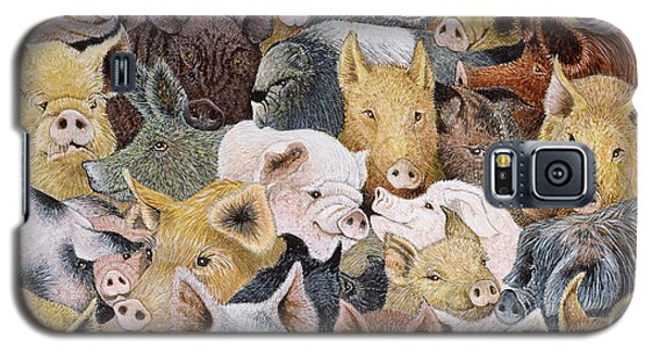 Pigs Galore Galaxy S5 Case by Pat Scott