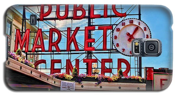 Pike Place Market Galaxy S5 Case