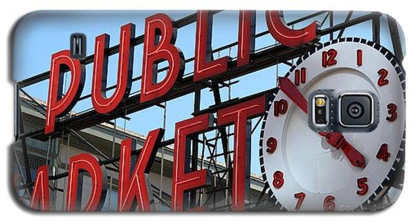 Pike Street Market Clock Galaxy S5 Case