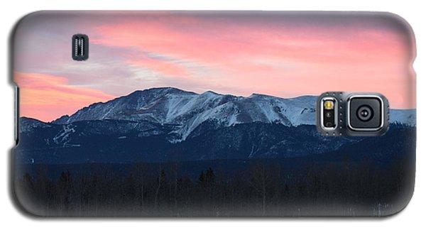 Sunrise Pikes Peak Co Galaxy S5 Case