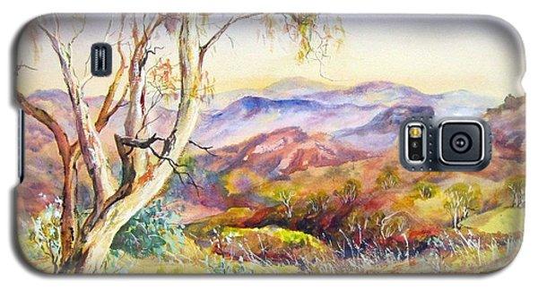 Pilbara, Hamersley Range, Western Australia. Galaxy S5 Case