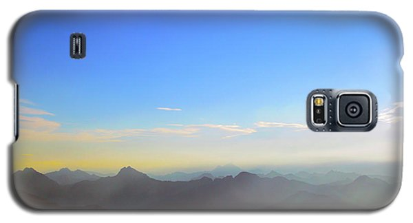 Pilchuck And Three Sisters Sunrise Galaxy S5 Case