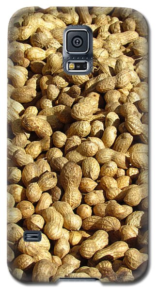 Galaxy S5 Case featuring the photograph Pile Of Peanuts by Bonnie Muir