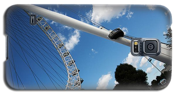 Pillar Of London S Ferris Wheel  Galaxy S5 Case