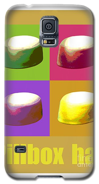 Galaxy S5 Case featuring the digital art Pillbox Hat by Jean luc Comperat