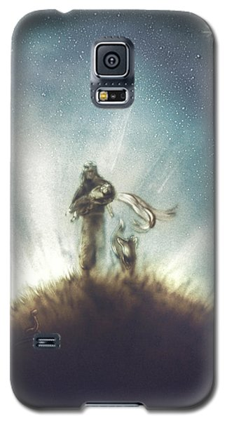 Pilot, Little Prince And Fox Galaxy S5 Case