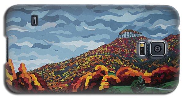 Pilot Mountain Fall Galaxy S5 Case