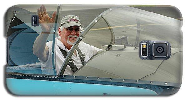 Pilot Vic Vicari Galaxy S5 Case