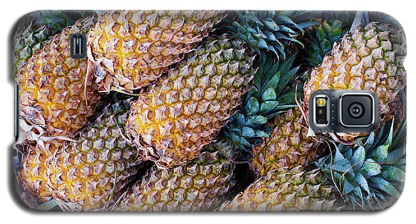 Galaxy S5 Case featuring the photograph Pinapples by Tim Gainey