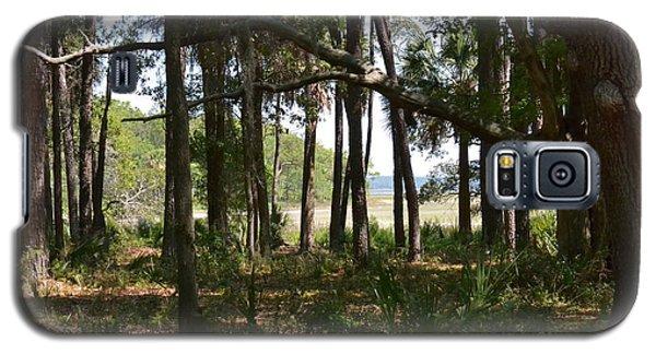 Galaxy S5 Case featuring the photograph Pinckney Island by Carol  Bradley