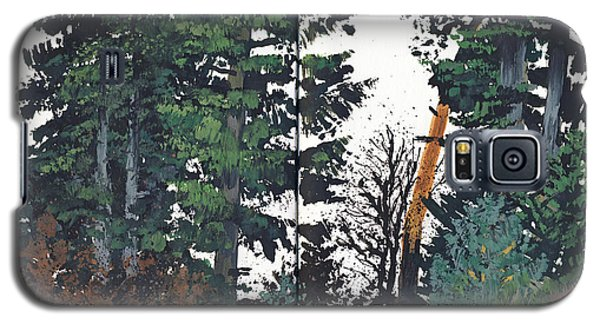 Pine And Fir Tree Forest Galaxy S5 Case by Martin Stankewitz
