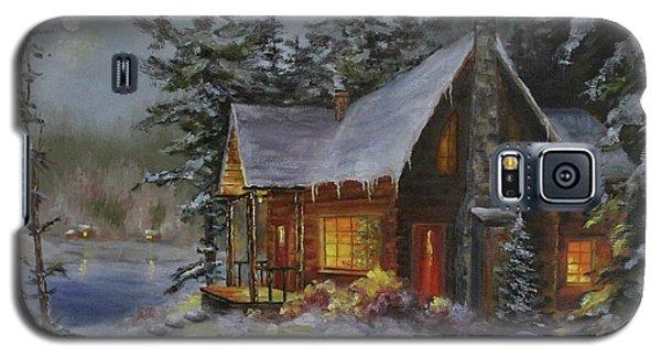 Pine Cove Cabin Galaxy S5 Case