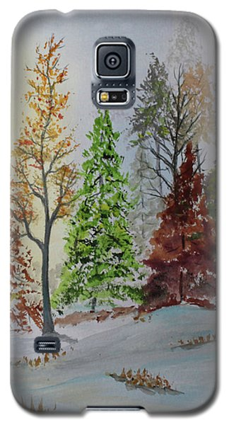 Pine Cove Galaxy S5 Case by Jack G Brauer