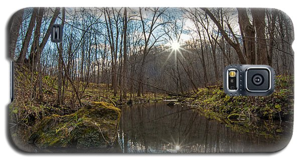 Galaxy S5 Case featuring the photograph Pine Creek by Dan Traun