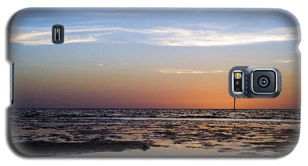 Pine Island Sunset Galaxy S5 Case by Beverly Stapleton