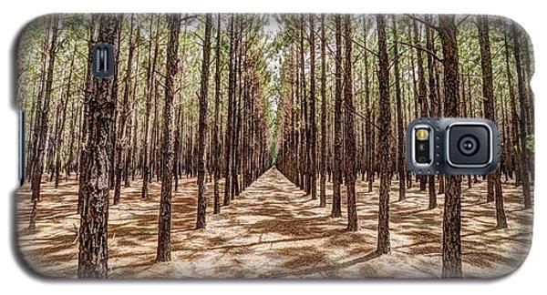 Pine Plantation Wide Color Galaxy S5 Case