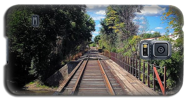 Pine River Railroad Bridge Galaxy S5 Case