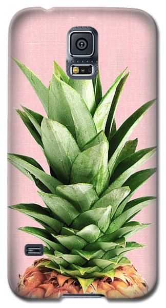 Pineapple And Pink Galaxy S5 Case by Vitor Costa