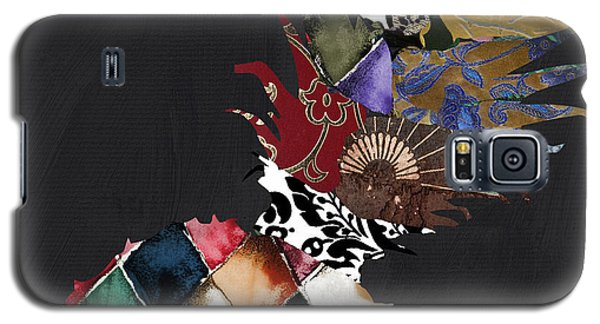 Pineapple Brocade Galaxy S5 Case by Mindy Sommers