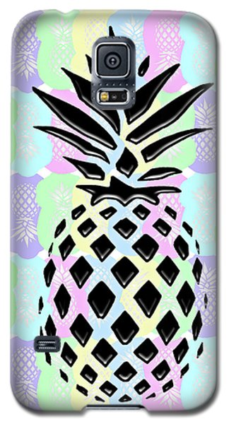 Pineapple Collage Galaxy S5 Case by Liesl Marelli